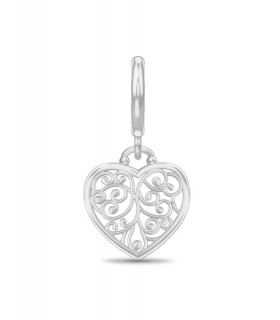 Charms Twisted Heart Endless 43213