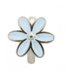 Charms Light Blue Enamel Flower Endless 41155-5