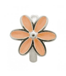 Charms Coral Enamel Flower Endless 41155-2