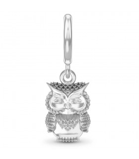 Charms Great Owl Silver Endless 43216