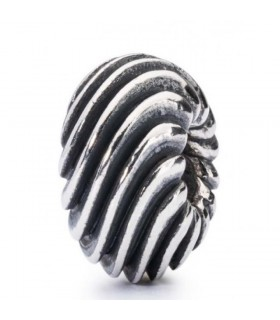 Perle Trollbeads Argent Douce Vague TAGBE-30063