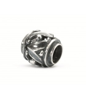 Perle Trollbeads Argent  Tambour Rythmique TAGBE-10181