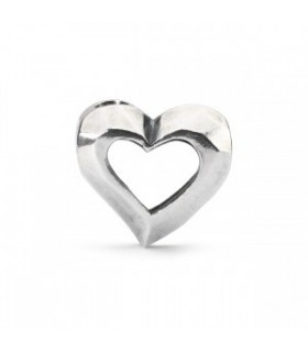 Perle Trollbeads Argent Amour intérieur TAGBE-10189