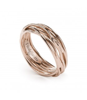 Bague Filodellavita Classic 7 fils Or Rose AN7R