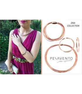 Collier 7 Fils Pesavento DNA Rose WDNAG031