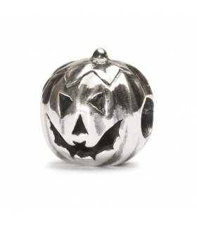 Perle Trollbeads Argent  Citrouille TAGBE-30042