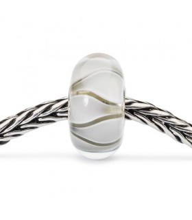 Perle Trollbeads Tulipes Blanches TGLBE-10440