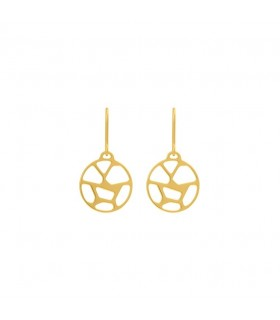 Boucles d'Oreilles Georgettes Dormeuses Girafe Finition Or 70318921900