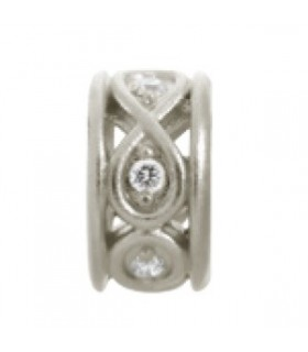 Charms Sparkling White Eternity Endless 41353-1