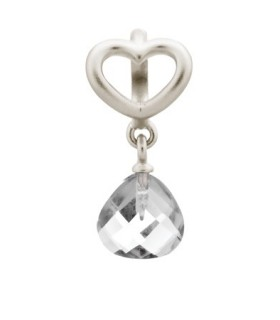 Charms Clear Heart Grip Drop Endless 43273-1